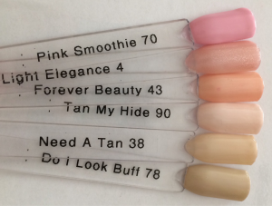 Tan my hide - similar colours
