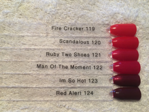 Red Matters - Swatch sticks