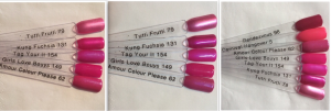 Tag Your It swatch comparisons