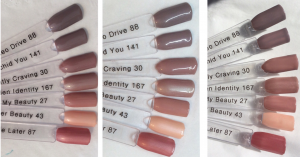 Hidden Identity Swatch Stick Comparisons Indoor, LED, Outdoor